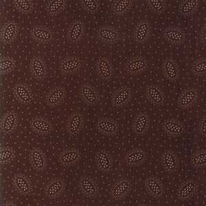 Hickory Road: Ovals Dark Brown