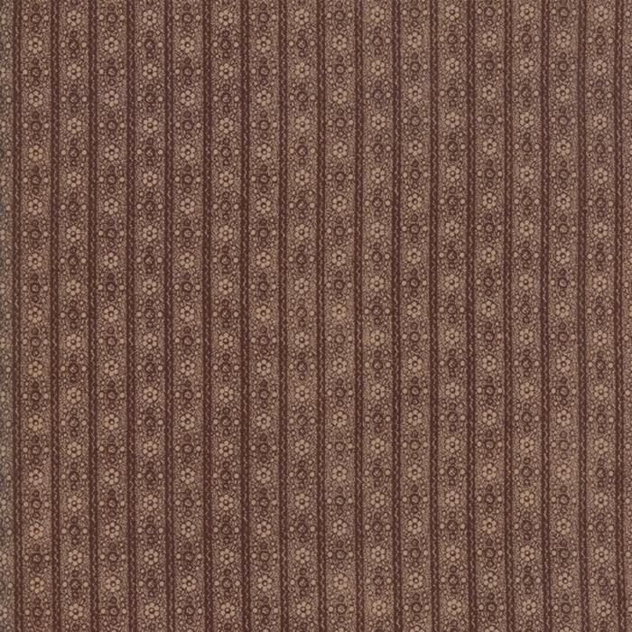 Hickory Road: Stripe Dark Brown
