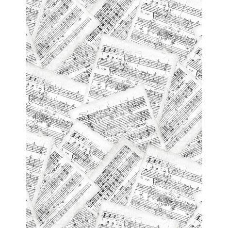 Interlude: Sheet Music White/Gray