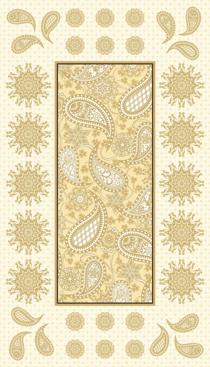Jubilee: Embroidery Pane Cream