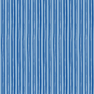 KimberBell Basics Little Stripe Blue