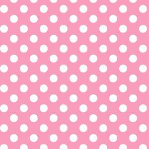 Lil' Sprout Flannel Too!: Dots Pink/White