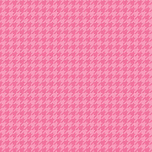 Lil' Sprout Flannel Too!: Houndstooth Pink