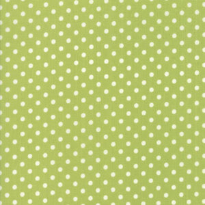 Little Snippets: Floral Dot Lt Green