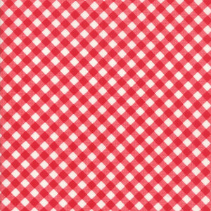 Little Snippets: Little Bias Gingham Red