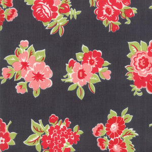 Little Snippets: Marmalade Floral Grey