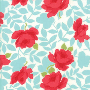 Little Snippets: Vintage Rose Aqua