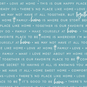 Make Yourself At Home: Home Phrases Blue