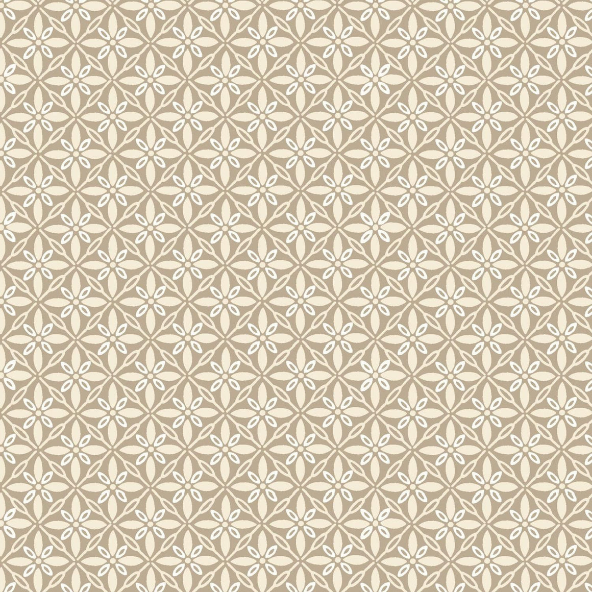 Make Yourself At Home: Tufted Star Taupe