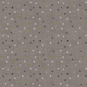 Mix Melange by Stof: Circle Dot Brown