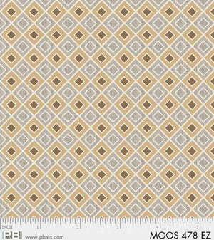 Moose Meadows Flannel: Geometric F478EZ