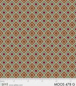 Moose Meadows Flannel: Geometric F478G