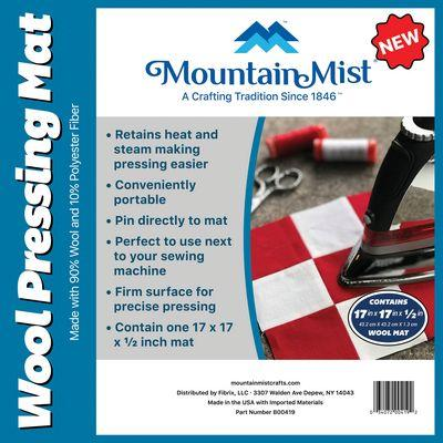 Mountain Mist Wool Pressing Mat 17 x 17 x 1/2 in