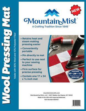 Mountain Mist Wool Pressing Mat 17 x 24 x 1/2 in
