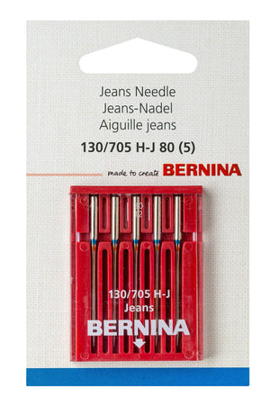 Needle, Bernina Jeans Sz 80 5pk