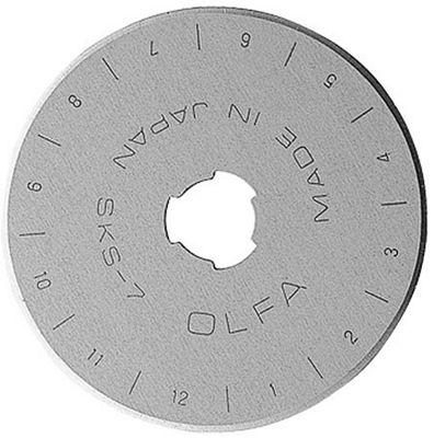 Olfa Replacement Rotary Blade 45mm 5pk