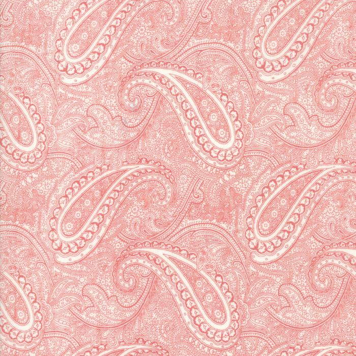 Porcelain: Etched Paisley Pink