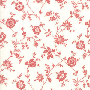 Porcelain: Heirloom Floral Red