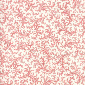 Porcelain: Plumes Red Cream