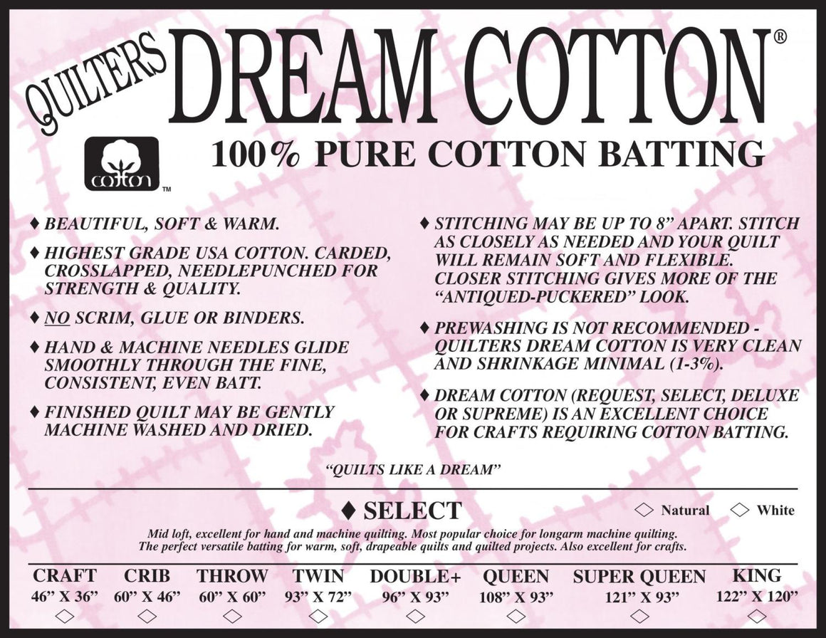 QD Natural Dream Cotton-Double