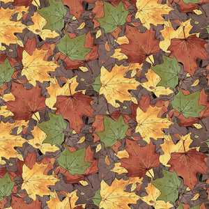 Quilt MN 2017:  Leaves Multi