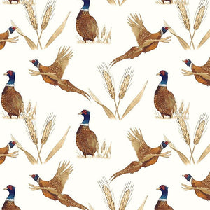 Quilt MN 2017:  Pheasant Toile Light Cream
