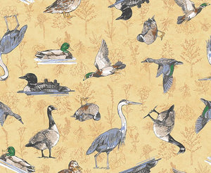 Quilt Minnesota 2019: Waterfowl Gold