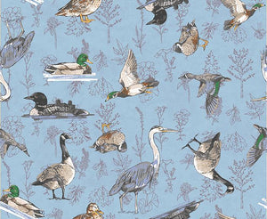 Quilt Minnesota 2019: Waterfowl Light Blue