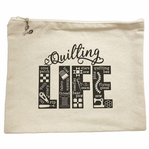 Quilting Life 9x11 Bag