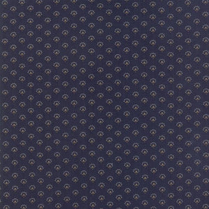 Regency Blues: Lindisfarne 1780-1800 Navy Blue