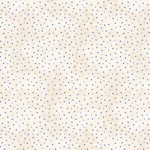 Roly-Poly Snowman: Sprinkled Dots Natural/Blue