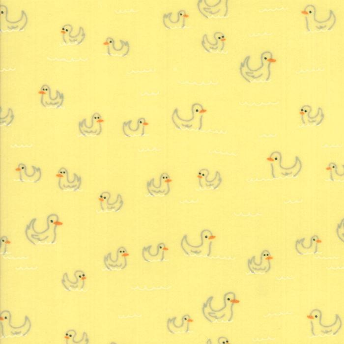 Soft & Sweet Flannel: Duck Duck Yellow