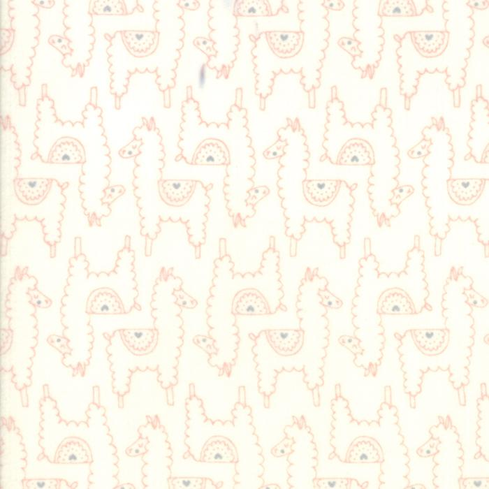 Soft & Sweet Flannel: Llama Llama Love Pink