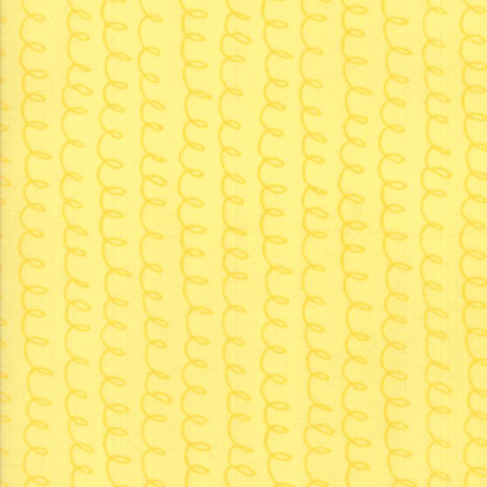 Soft & Sweet Flannel: Loopsy Doopsy Yellow