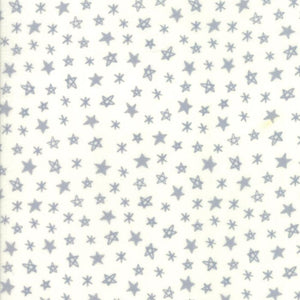 Soft & Sweet Flannel: Star Light Star Bright Grey