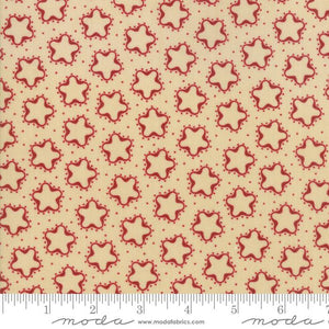 Star & Stripe Gatherings: Cookie Cutter Star Tan Red