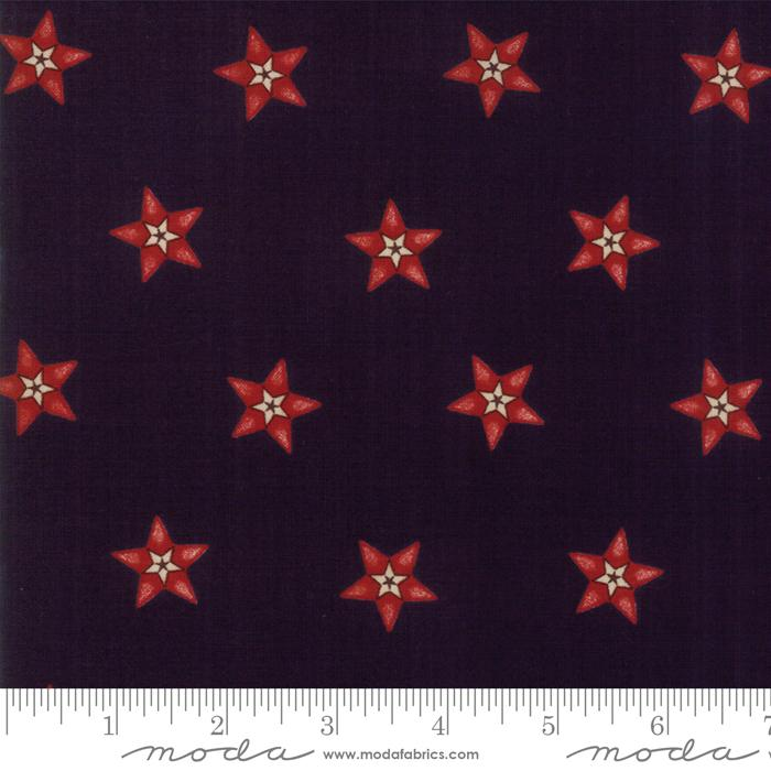 Star & Stripe Gatherings: Star In A Star Dark Blue Red