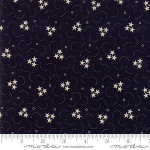 Star & Stripe Gatherings: Triple Star Navy Ivory