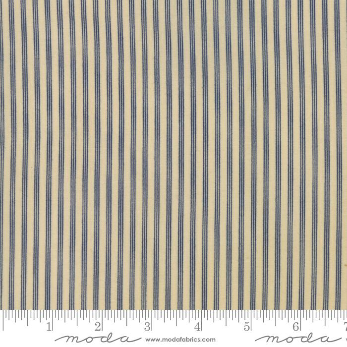 Star & Stripe Gatherings: Triple Stripe Tan Blue