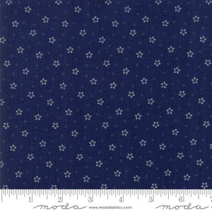 Star & Stripe Gatherings: Twirling Star Dark Blue