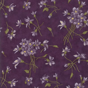 Sweet Violet: Violet Spray Violet Purple