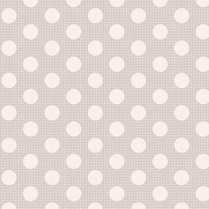 Tilda Medium Dots Light Grey