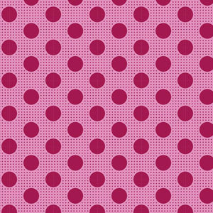 Tilda Medium Dots Maroon