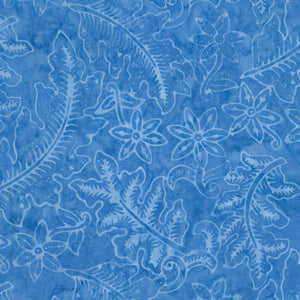Tonga Grasshopper Vacation Batik Blue