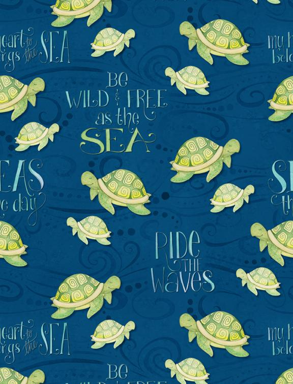Water Wishes: Sea Turtles Navy