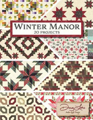 Winter Manor Book by Doug Leko, Antler Quilt Design