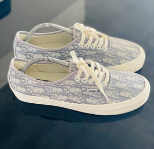 Custom Vans Authentic x Dior