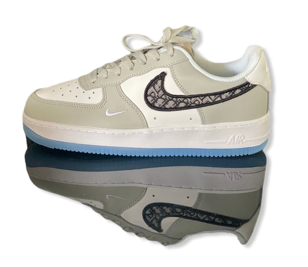 Custom Nike Airforce 1 Dior Ice