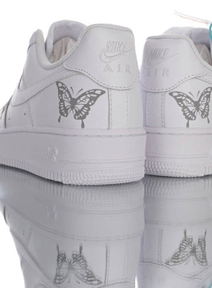 Custom Nike Airforce 1 Reflective Butterflies