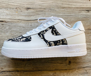 "Custom Nike Airforce 1 x Dior ""White"""